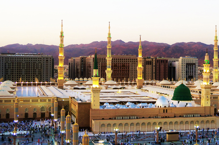 semi deluxe umrah Land package